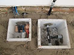 Impianti elettrico e idrico