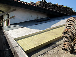 Coibentazione e ventilazione tetto