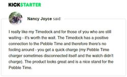 Kickstarter Testimonial TimeDock 12