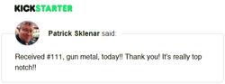 Kickstarter Testimonial TimeDock 9