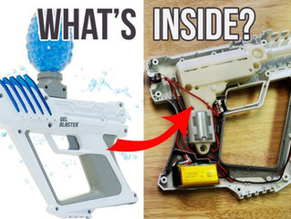What's Inside GEL BLASTER SURGE? | I Take Apart This Gellet Blaster Toy To See How It's Made & Works