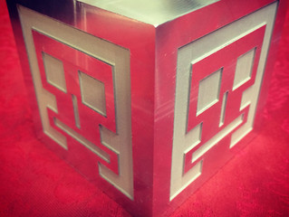 Fiber Laser Engraved Aluminum EVEREMAN Cubes