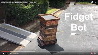 Fidget Bot - A Balancing Robot Built for Tradeshow Marketing