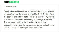 Kickstarter Testimonial TimeDock 18