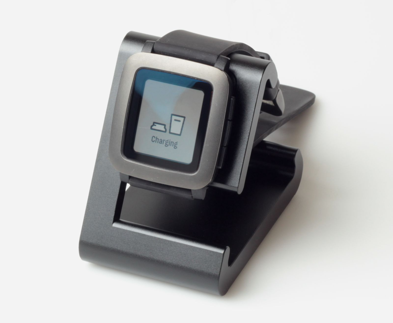 TimeDock Black with watch