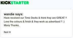 Kickstarter Testimonial TimeDock 22