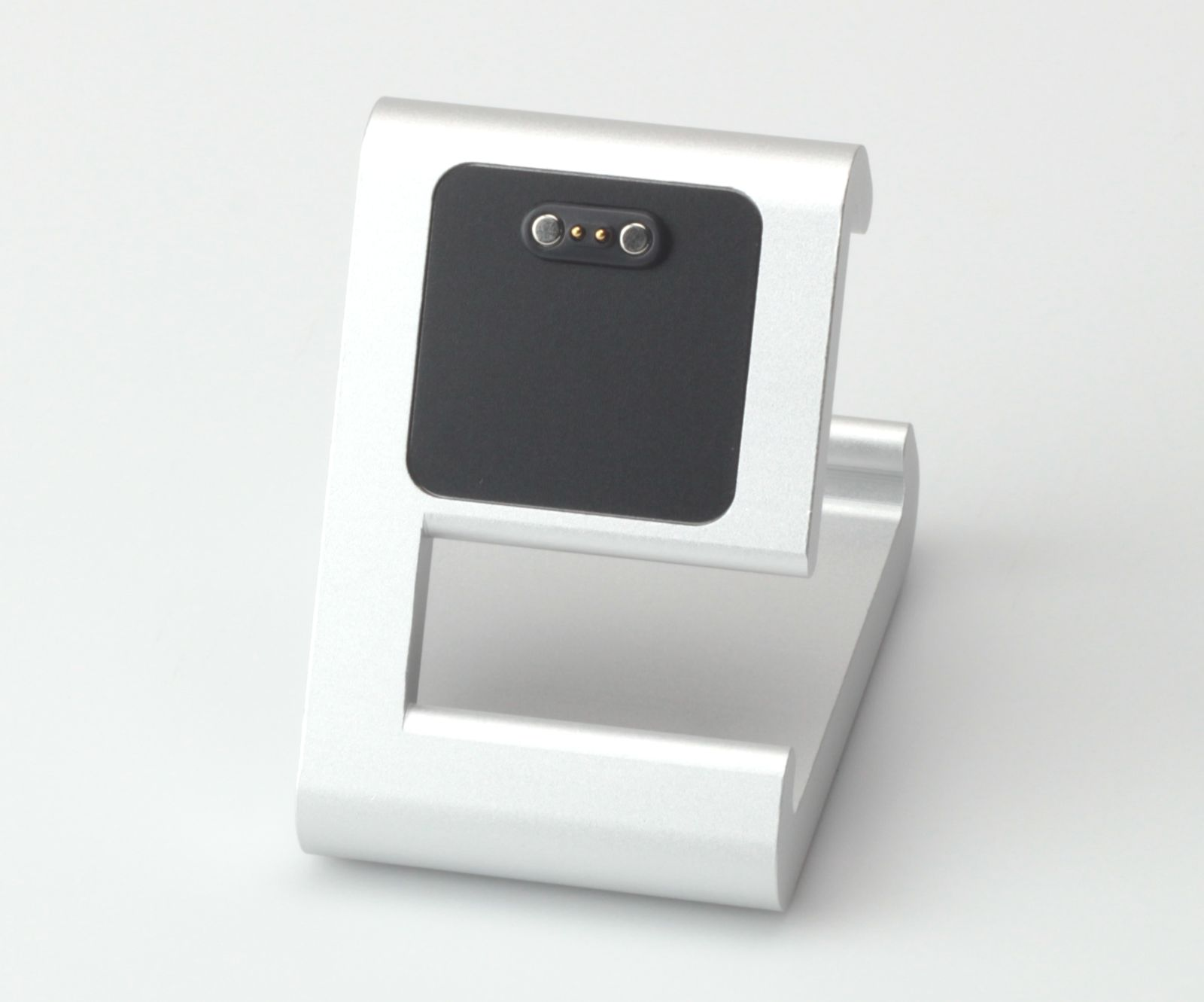 TimeDock Silver for Pebble Time Smartwatch