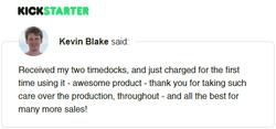 Kickstarter Testimonial TimeDock 13