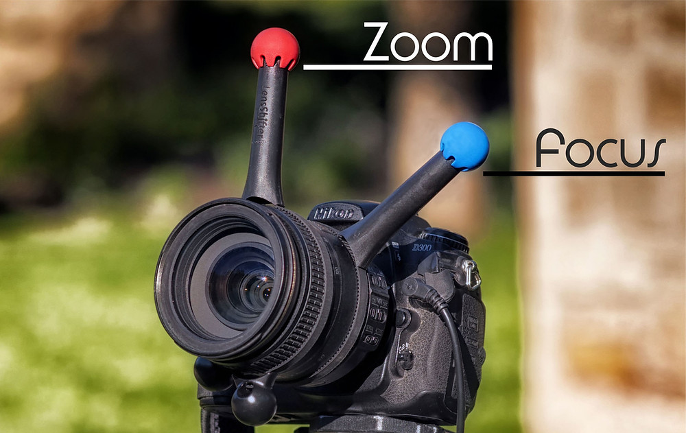 LensShifter Focus and Zoom follow focus available in 3 new awesome colors