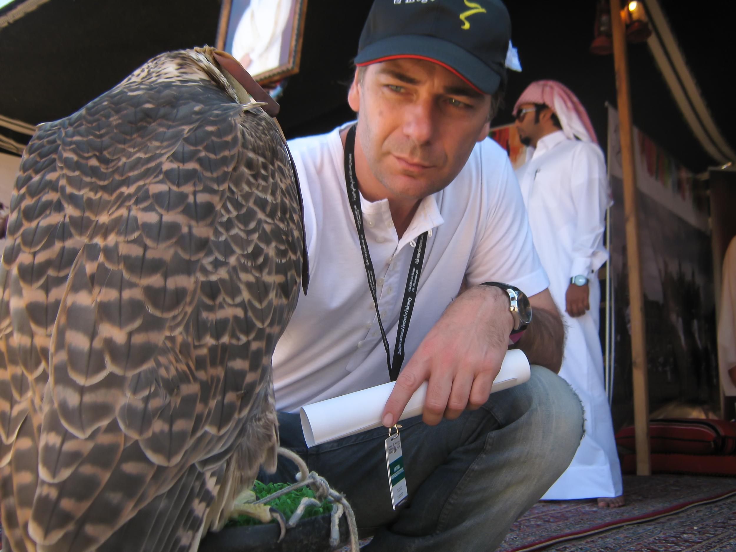 Pte A.A.C Daniel Abarquero en Qatar