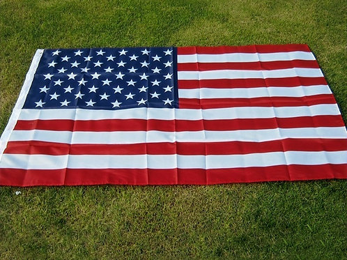 High Quality U.S. Flag Double Sided Printed Polyester