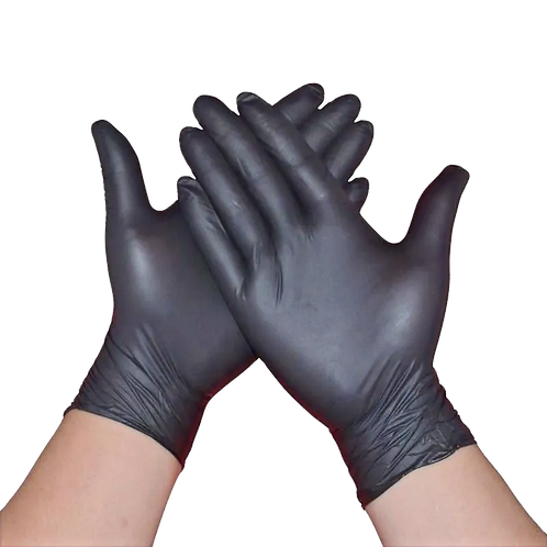 100Ct/Box  Disposable Nitrile Gloves Powder Free