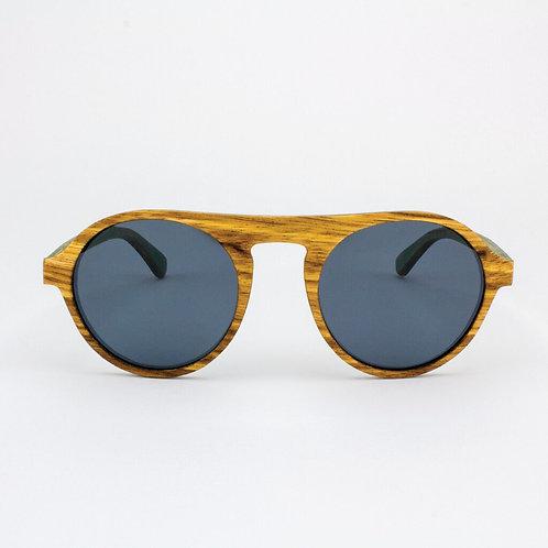TommyOwens Fisher - Adjustable Wood Sunglasses
