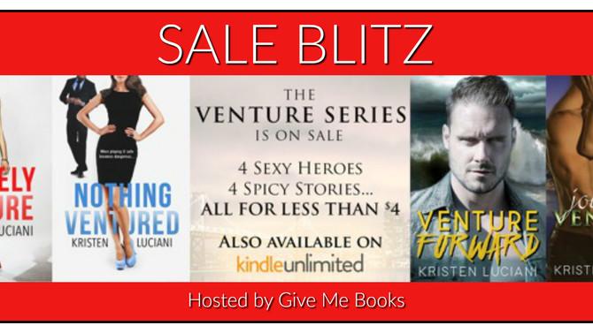 SALE BLITZ - The Venture Series by Kristen Luciani