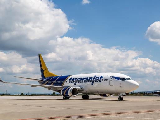 Tayaran Jet da il benvenuto al nuovo Boeing 737-300