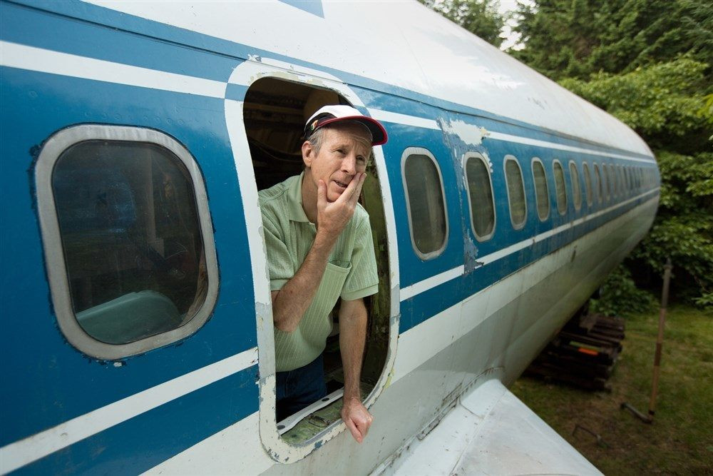 Looking for a New House? Live in an Airplane!