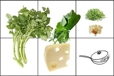 Ensalada verde con berros una ensalada super food