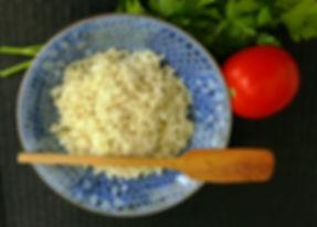 Arroza blanco, arroz rojo