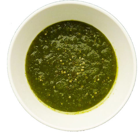 salsa mexicana verde cocida