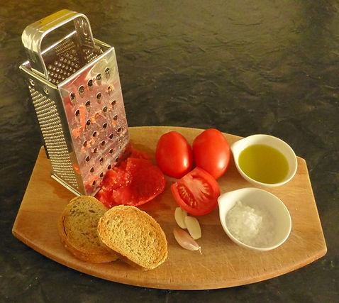 Pan con tomate al estilo español