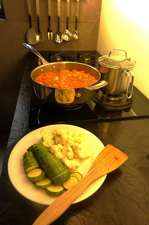 cuscús de verduras, cuscús vegetariano