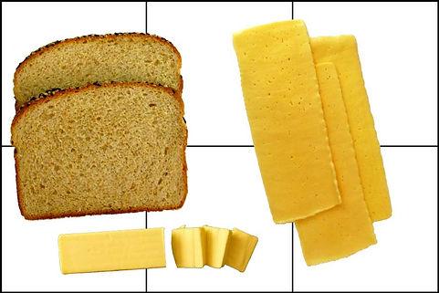 toast de queso fundido
