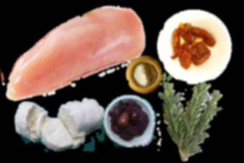 pechuga de pavo con queso cabra y tomates deshidratado, pechuga de pavo, pechuga de pavo con queso cabra