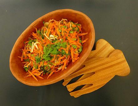 Ensalada de zanahoria crujiente y sabroza