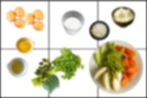 fritata de verduras cocidas