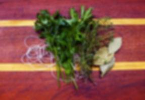 ramillete de hierbas a la francesa Bouquet Garni