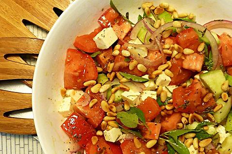 ensalada de jitomates pepino y queso, jitomate, tomate, ensalada de tomote, pepino, salsa con limón, ensalada fresca, ensalada sin lechuga