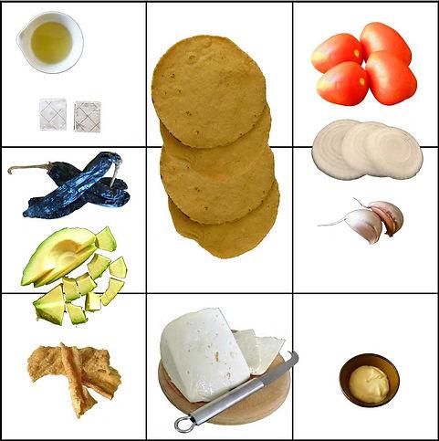 sopa de tortilla, sopa azteca