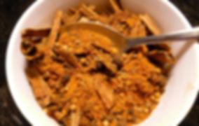 especias para tajine, especias del medio oriente, tajine, mezcla de especias