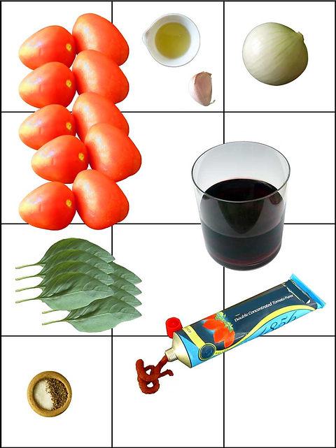 salsa de jitomate para la pasta