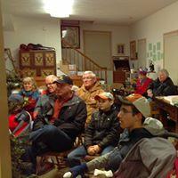 Visitors enjoyed hearing Christmas Stories at the Vasa National Archives