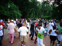 Steppin' in Central Park
