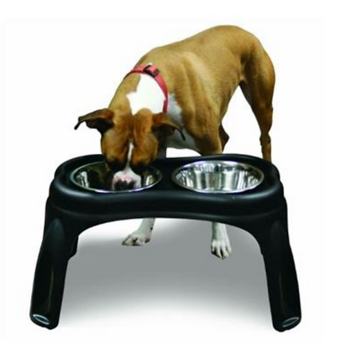 Our Pet's Elevated Dual Feeding Bowl