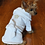 Thumbnail: Golden Crown Embroidered Terry Cloth  Bathrobe