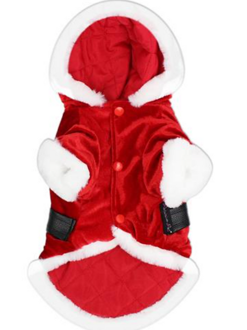 Parisian Pet Santa Winter Hoodie