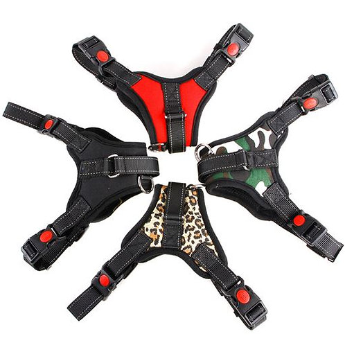 No Pull Adjustable Padded Harness
