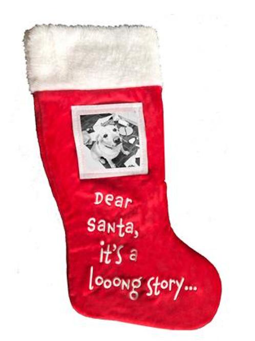Dear Santa Stocking