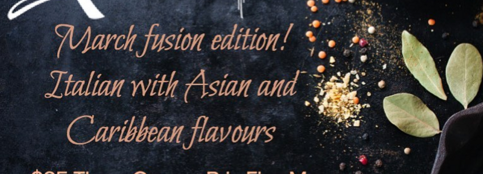 Taste of Mondello March Fusion Edition
