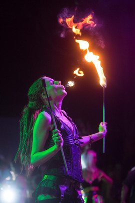 Fire-eating-gold-coast