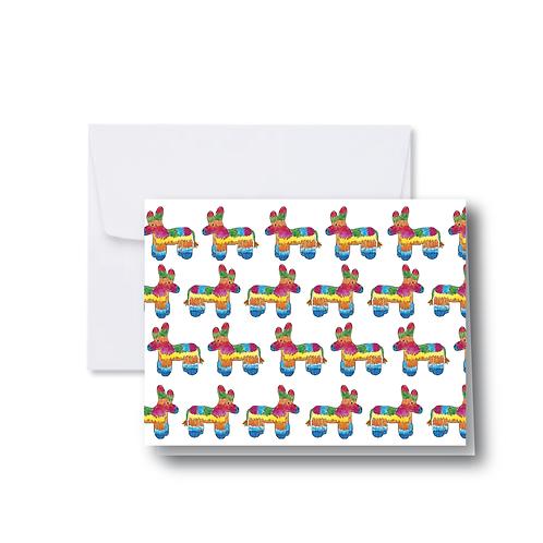 Pinata Repeating Note Card