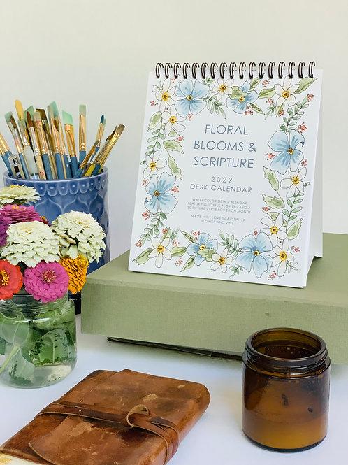 2022 Floral Blooms & Scripture