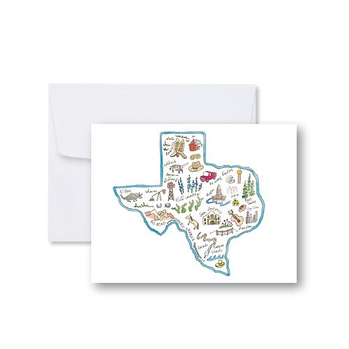 Texas Icons - Note Cards