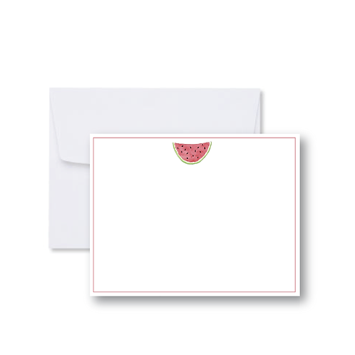 Watermelon FLAT Card Pack (8 Cards + Envelopes