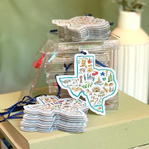 Texas Icons Ornament