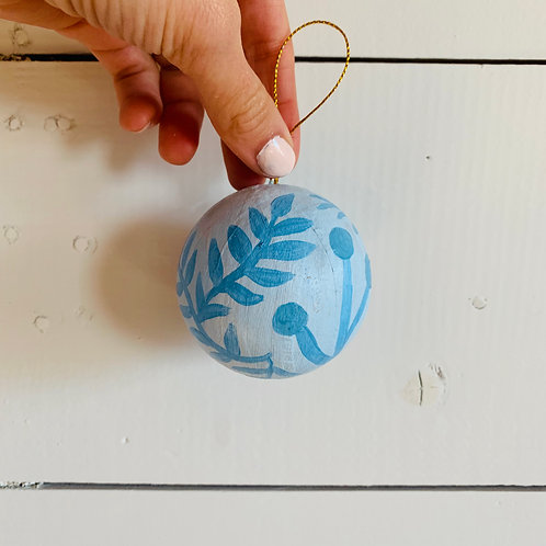 Light Blue Ornament (#3)