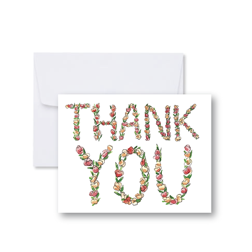 Thank You Letters Note Card